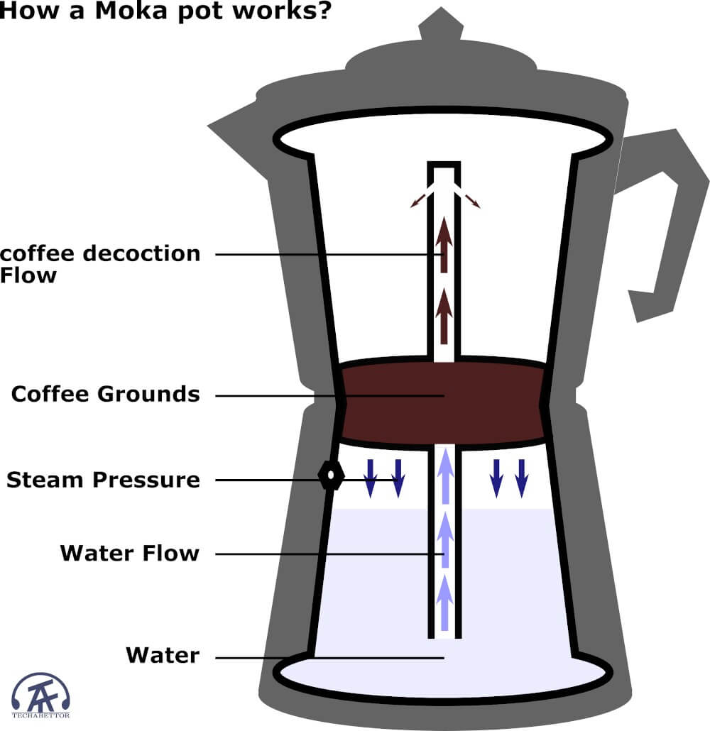 How a coffee percolator works?