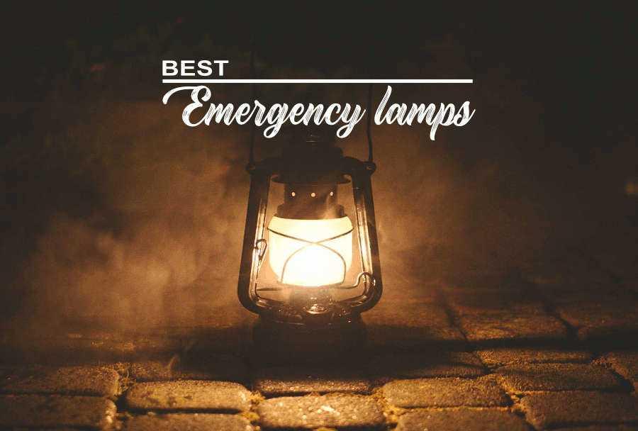 Best emergency lamps