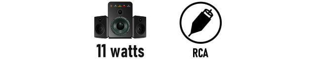 F&D F203G 2.1 speaker Features