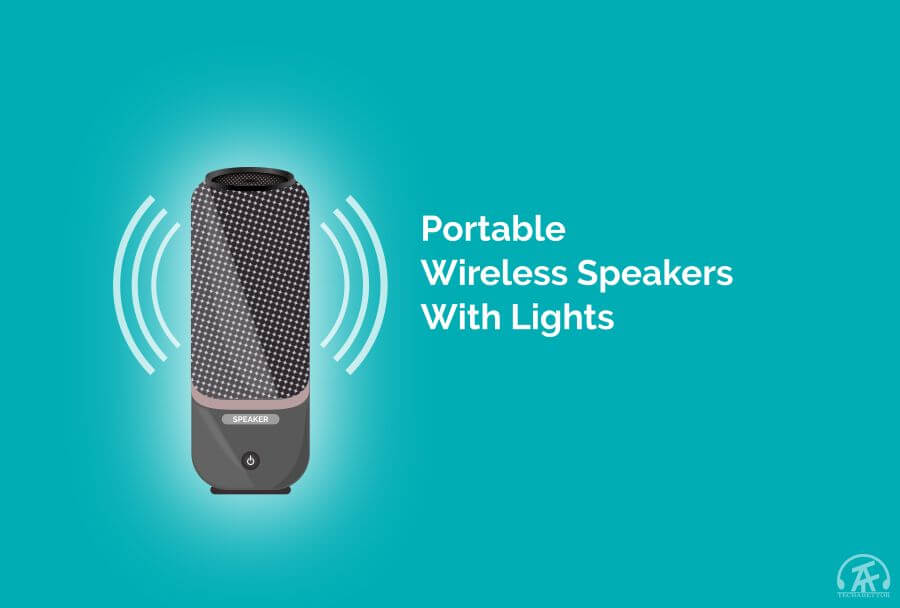 Best portable wireless speakers with light post featured image