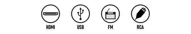Sony DAV-TZ145 connectivity options