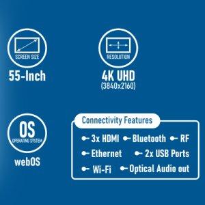LG 55UM7290PTD 55-inch smart TV Features